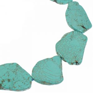 genuine semi-precious turquoise necklace