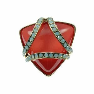 New York style unique stunning cocktail ring